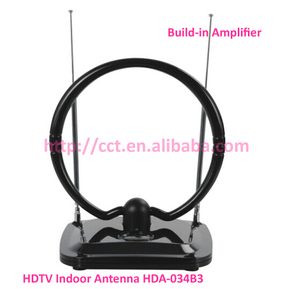 HDTV Indoor Antenna HDA-034B3 with Build-in Amplifier