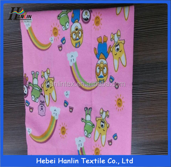 cotton flannel fabric for baby/baby printed waterproof fabric/fabric manufacturers thailand