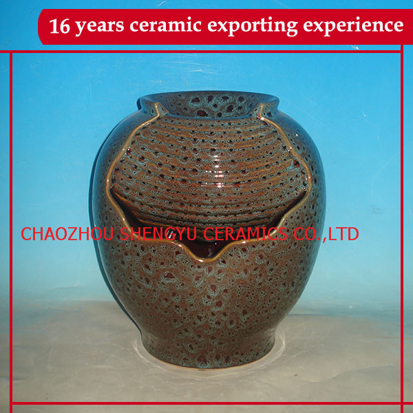 high quality fountain ceramic home decor