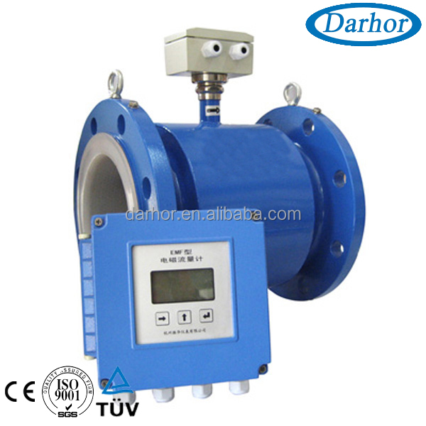 DH1000 series remote control type magnetic flow meter, flow meter magnetic, flow magnetic meter