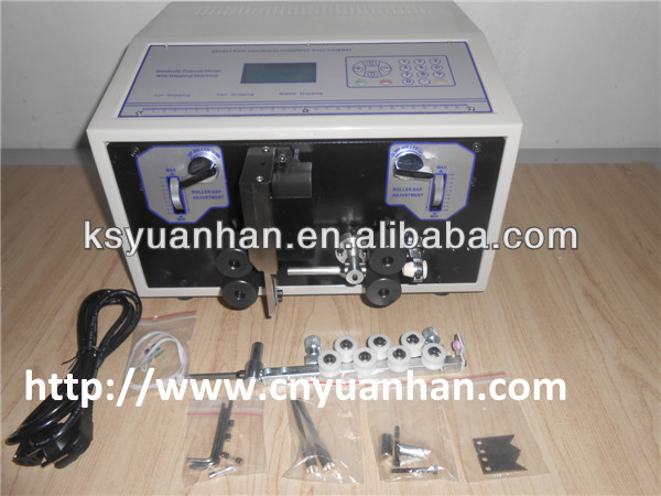 automatic cable cutting machine, used cable stripping machine, pvc medical granule