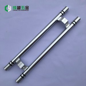 HOT SALE Custom made Aluminum door handle for glass door