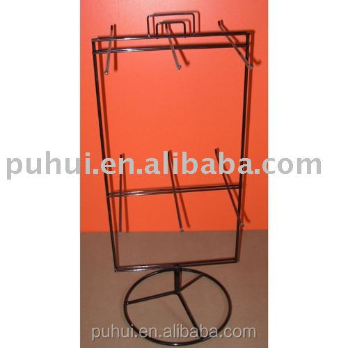 counter top blister package display stand