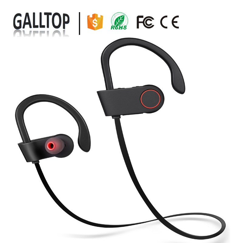 OEM Logo Earphones Headphones Wireless Bluetooth Sport Bluetooth Training for iPhone Android
