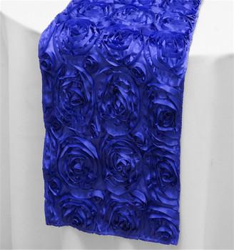 Rosette Navy Blue Table Runners For Wedding Decoration Rosette Table Runner Buy Rosette Table Runner Navy Blue Table Runners For Wedding