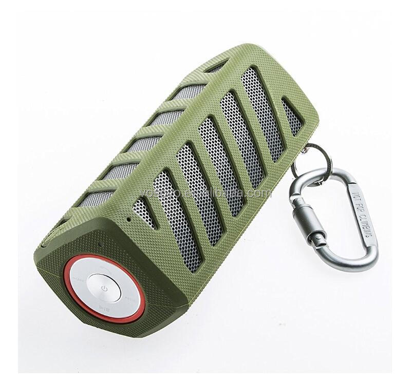 wireless waterproof bluetooth powerful portable speakers with powerbank