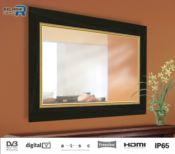 65 inch 800 nit top sales in the UK LED lighting magic mirror tv for promotion