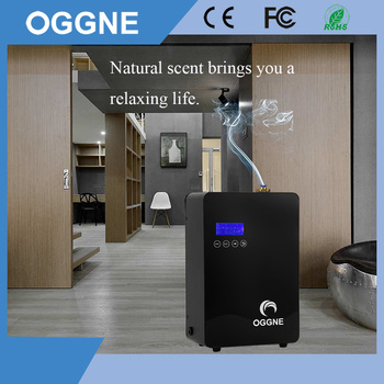 New Business Line Scent Market Fragrance Machine Steel Electric Aroma Bloom Diffuser