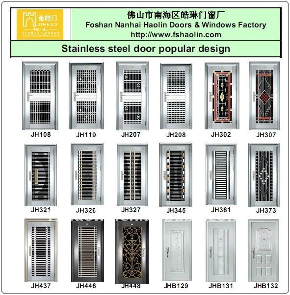 Double Leaf Stainless Steel Grill Door Design Jh314 Buy Steel Grill Door Design Front Double