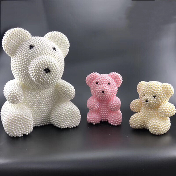 cute pearl bear present for girlfriends boyfriends valentine