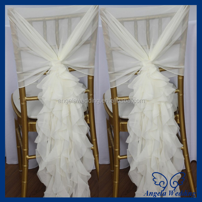 ch016a popular fancy wholesale cheap wedding chiffon chair