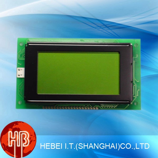 128x64 Dots Blue Graphic LCD Module 12864 5V With Backlight