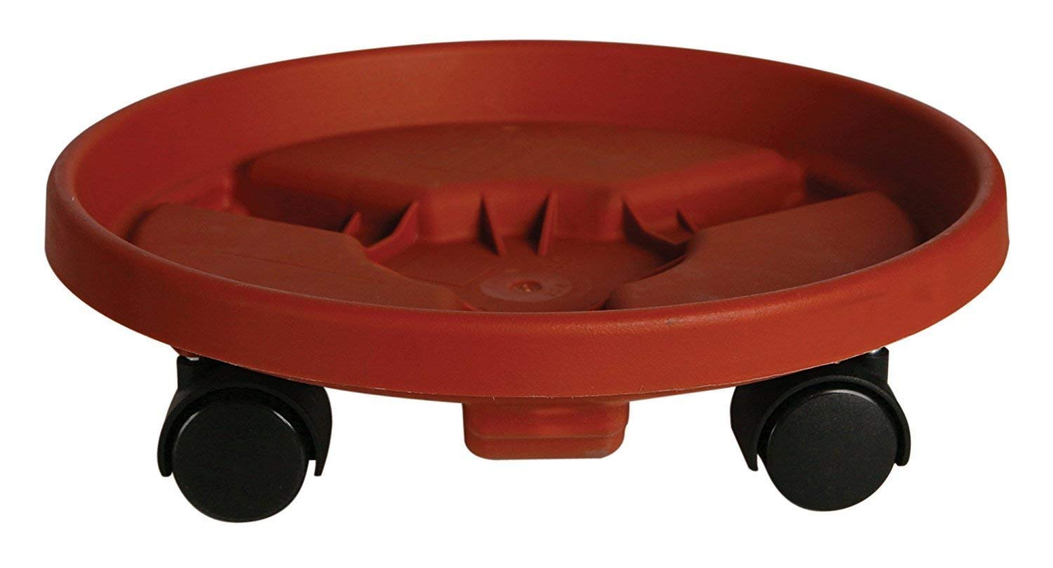 "16"" Plant Dolly. Combine This Rolling Stand with Decorative Flower Pot or Planter to Decorate Your Garden, Patio, Deck, Home & Poolside. Heavy Duty Wheeled Caddy Is Great for Outdoor & Indoor Decor"