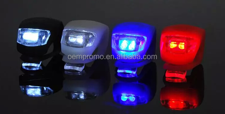 Hot selling silicone LED bicycle light