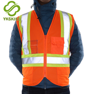 Great pvc security vest pvc reflective professional style vest