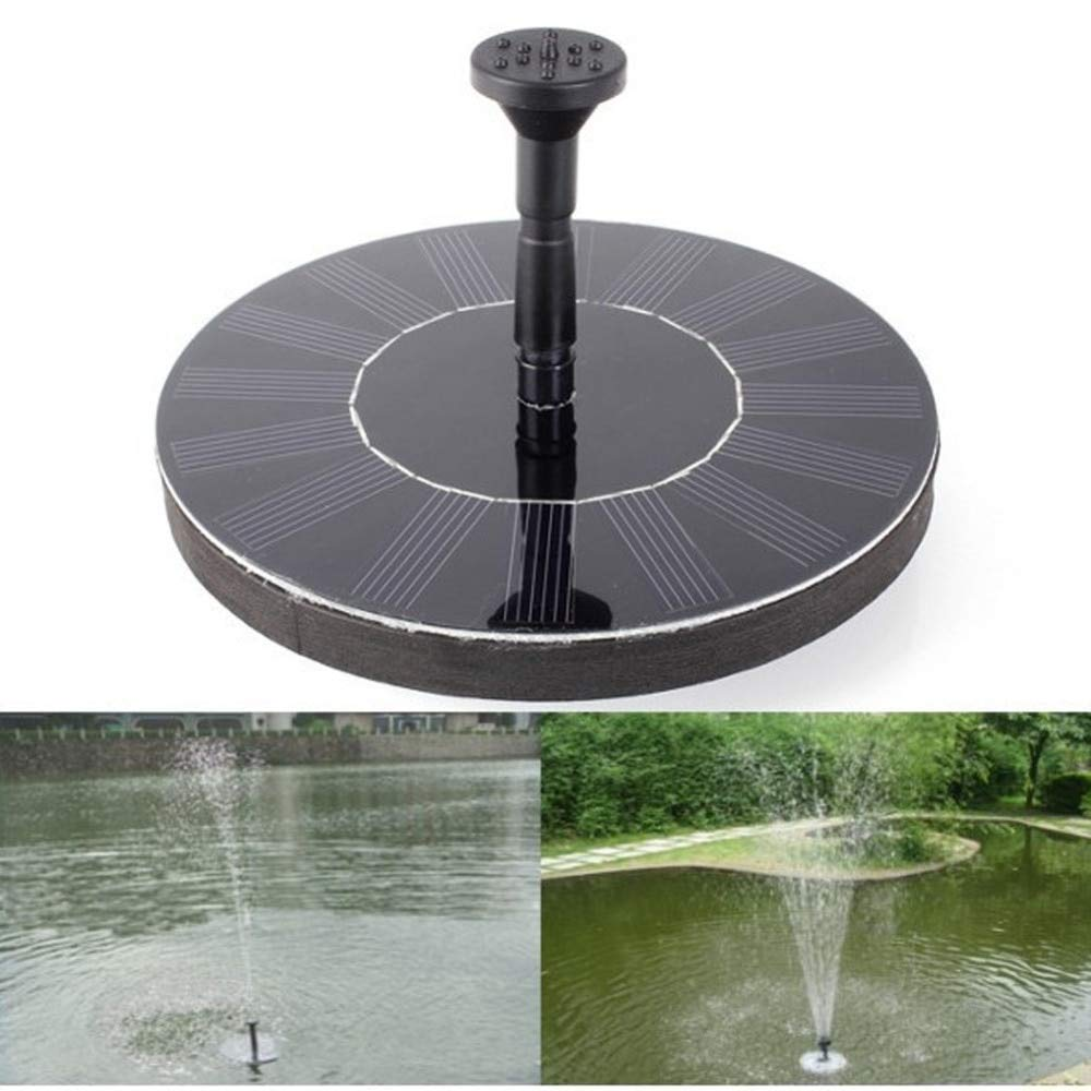 Useful Solar Water Pump 7v Floating Waterpomp Panel Garden Plants Watering Power Fountain Pool Automatical For Fountains Waterfalls New Home Appliances Home Appliance Parts