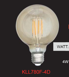 Dimmable Filament LED Bulb with ETL