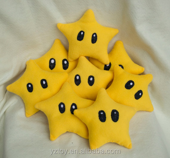 Mario Inspired Star Plushies Plush Toys Kid Children Stuffed Play Toy Kawaii Cute Video Game Character Immunity Power