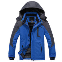 Wholesale OEM service Men's Outdoor winter ski jaket men hiking jacket Waterproof Ski Jacket Windproof Rain Jacket