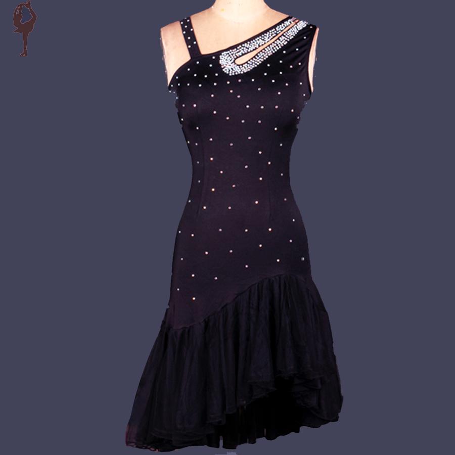 2015 Latin Dance Dress Women/Girls Diamond Roupa Infantil ...