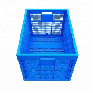 100% Virgin PP Material and Yes Foldable Stacking Moving PP Foldable Vegetable/Fruit crates