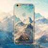 Cool Phone Case Cover For iPhone 6 4.7'' Case Ultra Thin Soft Silicon Transparent Mountain custom phone cases for Phone CEUVP