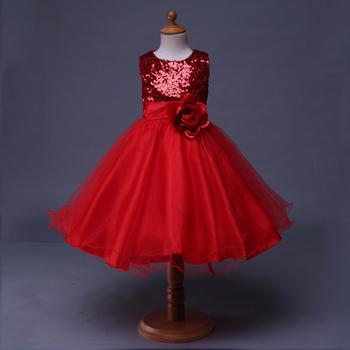 Pettigirl Rojo De Lentejuelas Sin Mangas Caliente Bangkok Bling Vestidos De Fiesta Para Niñas Buy Vestidos De Fiesta De Chicas Brillantesvestidos