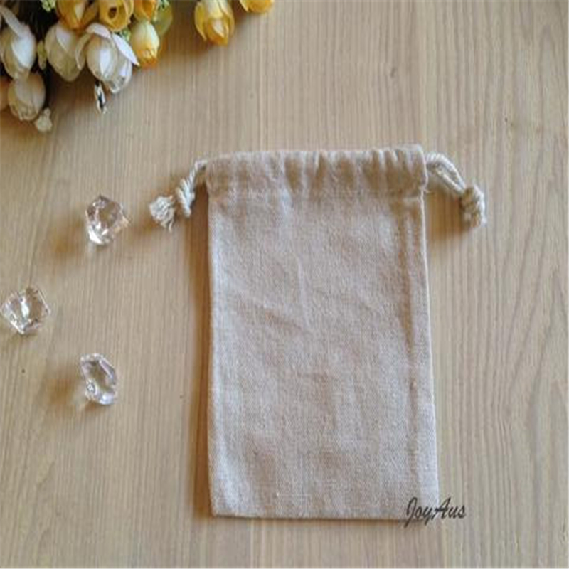 Reasonable Price Cotton Linen Drawstring Bag