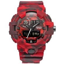 2018 новые Лидирующий бренд повседневные часы мужские G стиль водонепроницаемые спортивные военные часы S Shock мужские Роскошные Аналоговые Ци...(Китай)