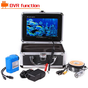 Underwater fishing camera 7inch TFT LCD monitor HD 1200TVL fish finder video camera system 15m-50M With DVR Recorder