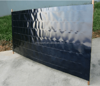 Solar Absorber Plate with Blue Selective Coated Copper
