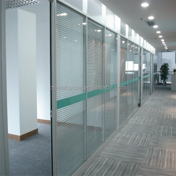 Office Full Height Frosted Gl Wall Parion Soundproof Used Parions