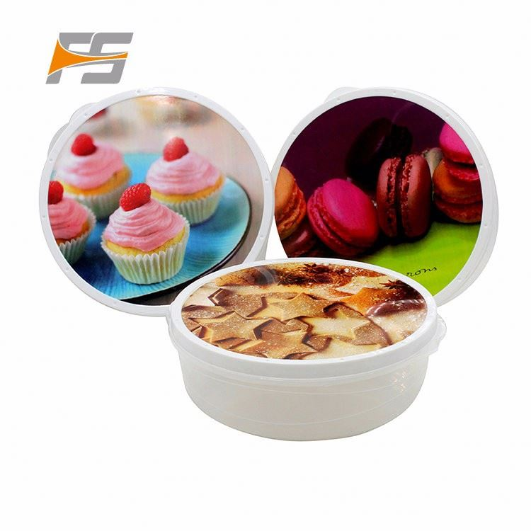 Oem Available Christmas Disposable Cereal Plastic Bowl