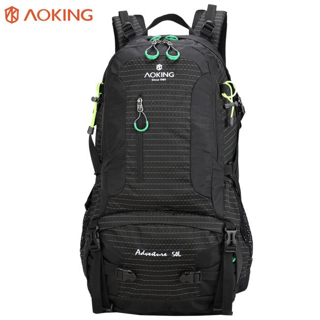 저렴한 사용자 정의 나일론 야외 캠핑 bagpack 스포츠 하이킹 다시 팩 mochila 드 viaje 트레킹