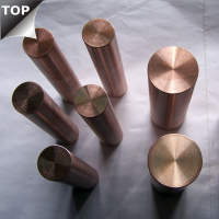 higher density CuW alloy Copper tungsten bar / rod