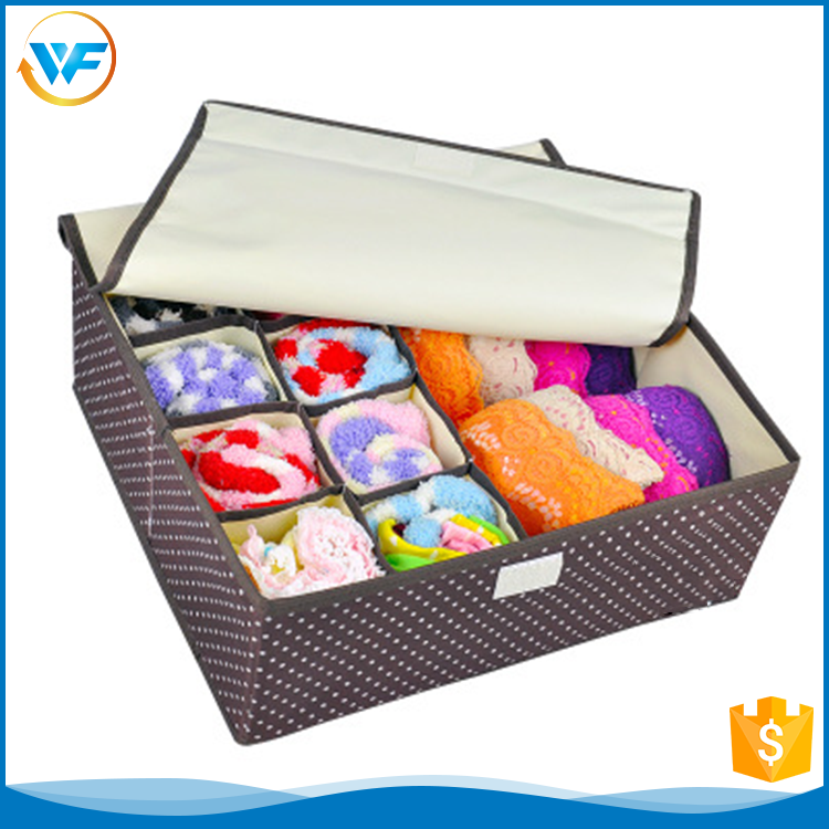 Square Bra Non Woven 70 Quart Sanitary Napkin Round Hat Storage Box