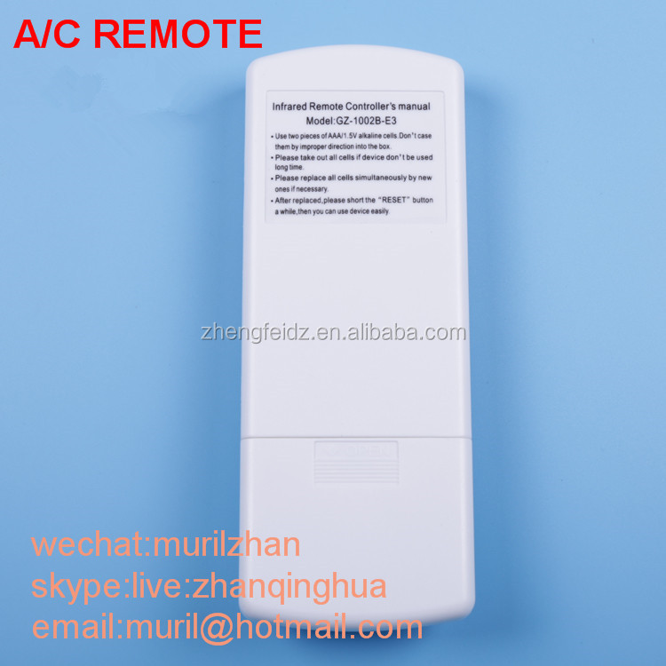 High Quality White 13 Keys Air Conditioner Remote Control For Samsung  Kfr-35gw Ure Kfr-35gw Urf With General Chinese Shape - Buy Air Conditioner