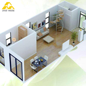 Prefabricated Container House With Kitchen Bathroom Flat Pack