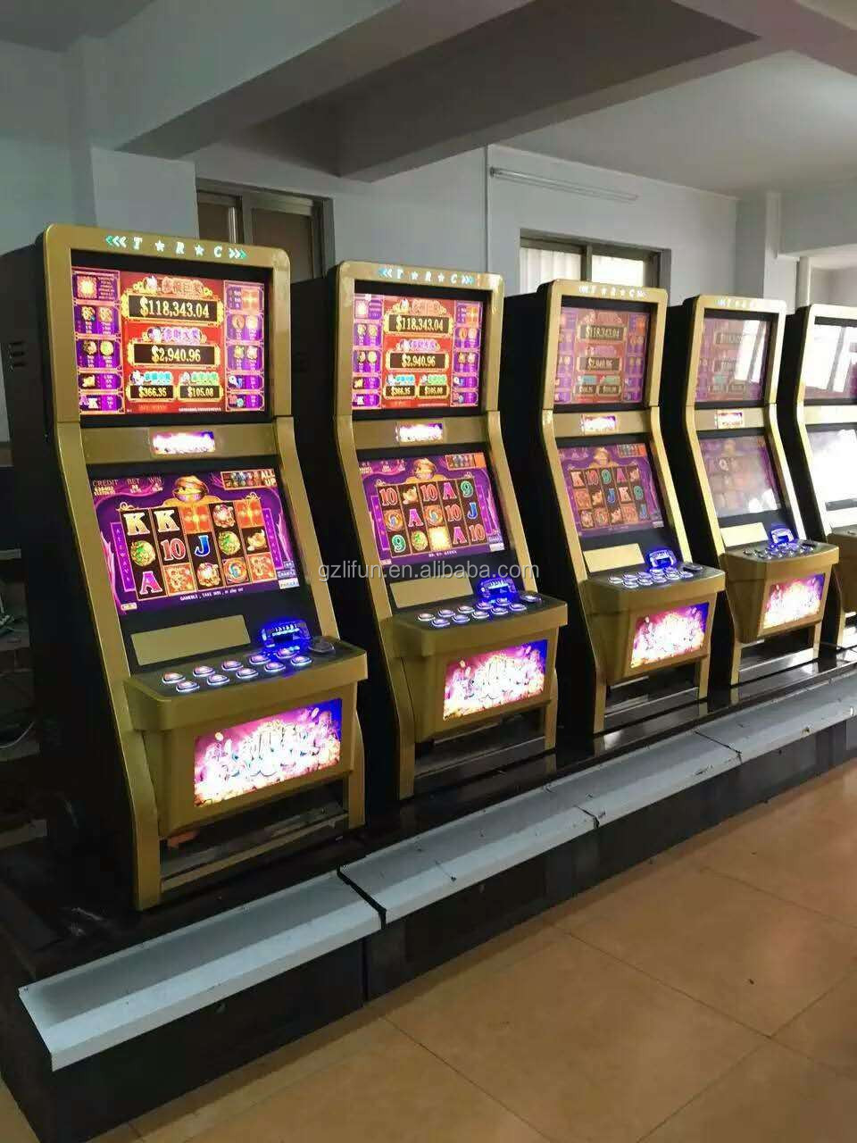 Baccarate Slot Game Machine /bingo Metal Cabinet Factory/video ...