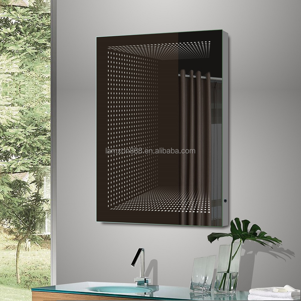 Hot Style Large Frameless Mirror Hollywood With Led Lights Infinity Wall Bathroom