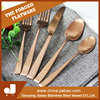 Tableware flatware of leopard telescopic dinner forks cutlery forks