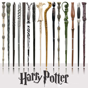 "New Arrival Harry Potter With 14.5"" Magical Wand Cosplay Halloween Gift In Box"
