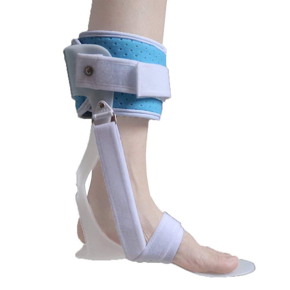 MedicalAFO Ankle Foot Orthosis Foot Drop Orthosis Postural Correction Brace Splint Leaf Spring Recovery Equipment Injection - Large for Right Foot