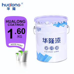 Hualong Polyurethane Main Raw Material Paint Liquid Clear Coating
