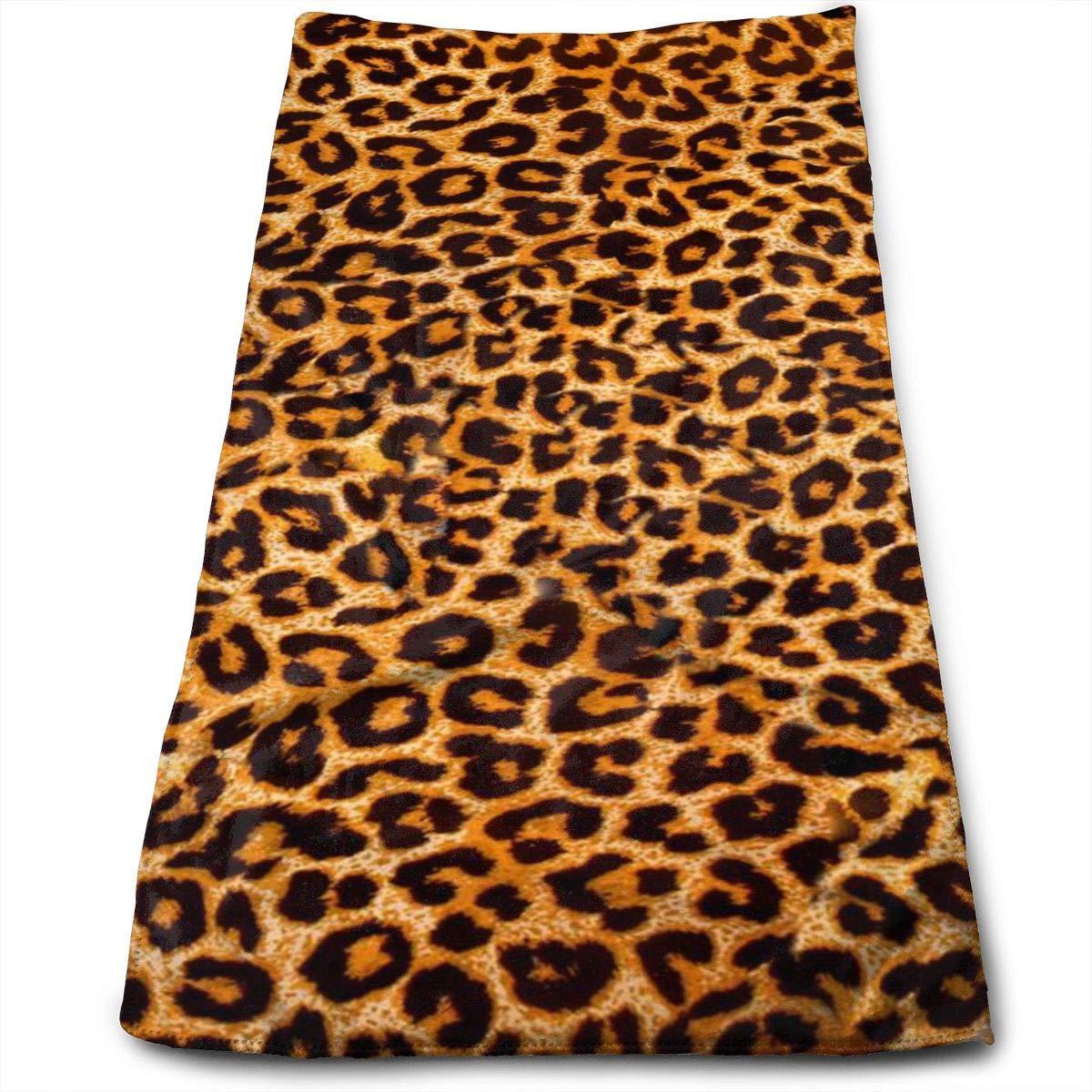 Leopard Print.jpg Design Massiness Beach Towel, Quick Dry Towel for Swimmers, Sand Free Towel, Pool Towel, Bath Towel