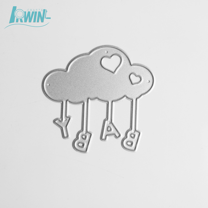 Cloud cute stainless steel crafts metal <strong>art</strong> die cutting