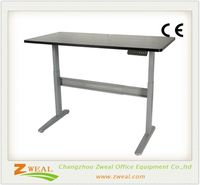 portable computer stand with wooden desktop aluminum frame outdoor heights adjustable picnic table round grooming