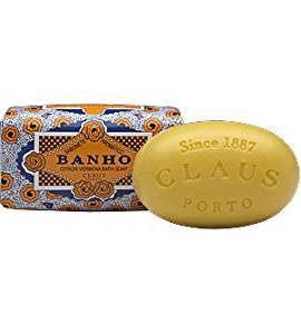 Claus Porto 5.28 oz Bar Soap - Banho (Citron Verbena)