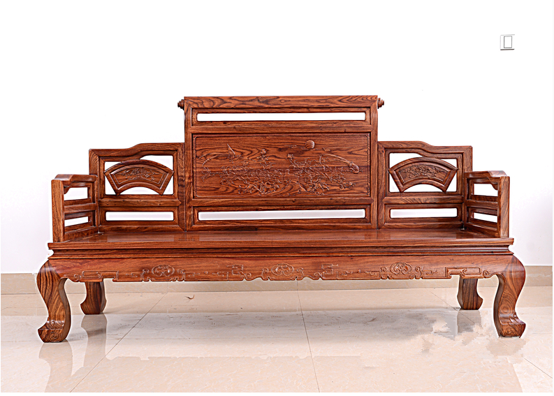 Best Quality Wooden Sofa ~ Low price living room furniture solid wood sofa set