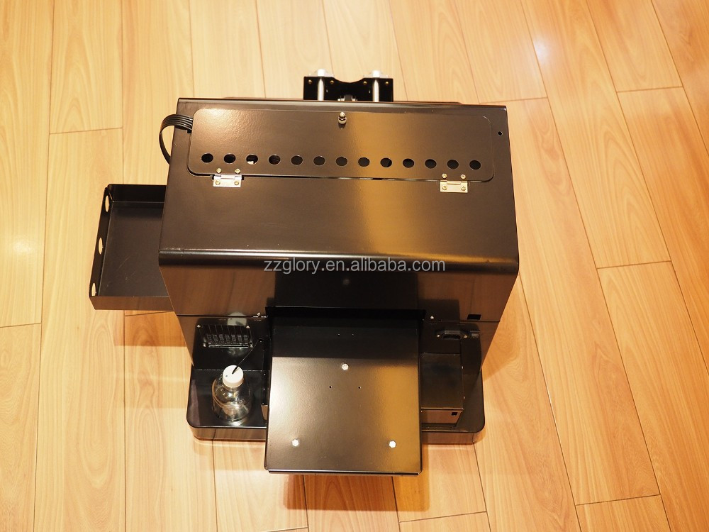 2018 2019 3D Digitale A3 A4 Kleine UV Flatbed LED Printer